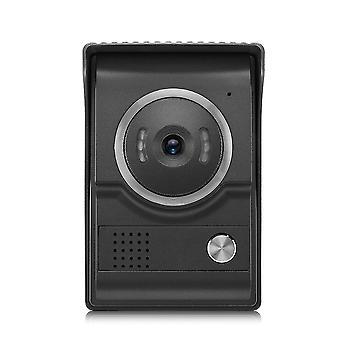 Dverový telefón pre 4 drôtené káblové kamery Káblové video dvere Telefón Intercom Vstup