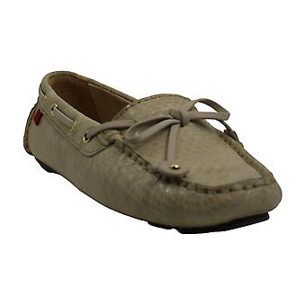 Marc Joseph New York Womens Cypress Hill Leather Square Toe Boat Shoes