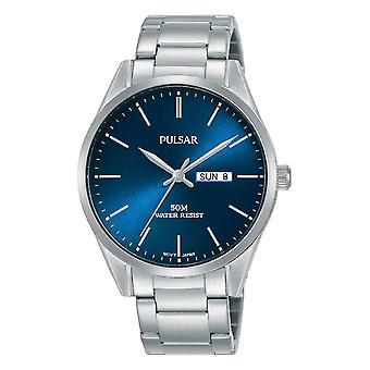 Pulsar Pj6109x1 Azul y Plata Acero Inoxidable Hombre's Reloj