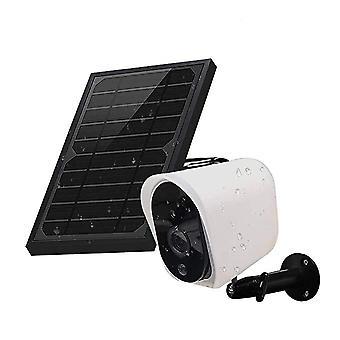 GUUDGO Langaton aurinkoenergialla ladattava akkukäyttöinen ip-turvakamera aurinkopaneelilla, 1080p HD Wat