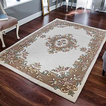 Royal Aubusson Rugs In Beige Cream