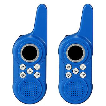 2Pcs Wireless Walkie Talkie Outdoor Children Toy Kids Intercom Small Machine