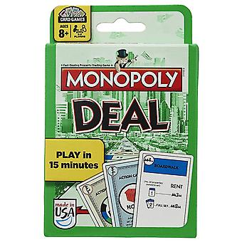 English Version Monopoly Deal Card Game Play Toy
