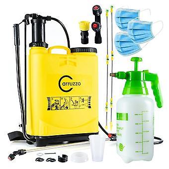 Plantedyse - 16L liter back-tank - 3 dyser - gul