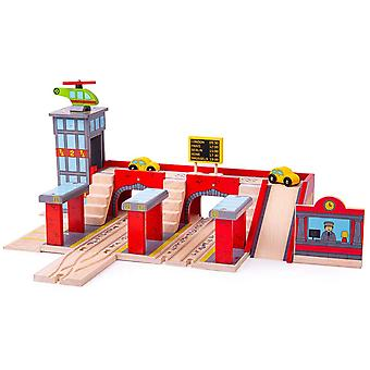Bigjigs Rail Wooden Grand Central Station