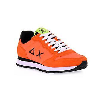 Sun68 64 tom solid nylon orange sneakers fashion