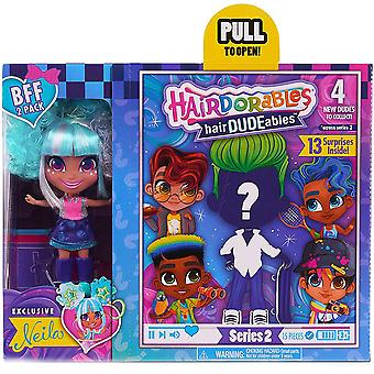 Hairdorables hairdudeables series 2 bff pack (13 surprises) neila