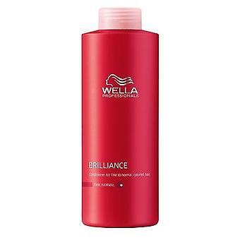 Wella Professionals Brilliance Conditioner Fine/normal Hair 1000 Ml