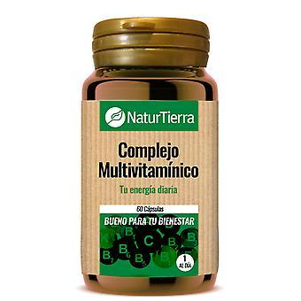 Naturtierra Multivitamin Komplex 60 kapslar