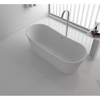 1650x700x600mm kvartsikuppien hyväksyntä kylpyamme soikea vapaasti tukeva kiinteä pinta