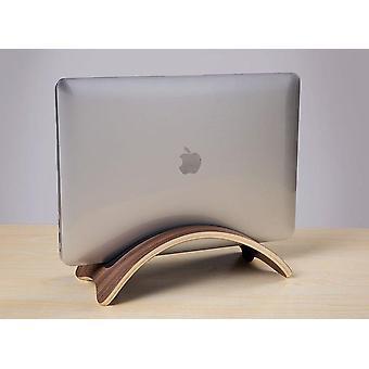 Puinen jalusta Macbook Desk pidiketeline näyttö