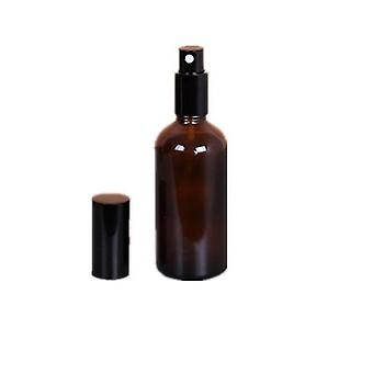 Refillable Press Pump, Glass Spray Bottle- Oils Liquid Container, Perfume