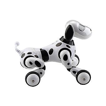 لعبة الاطفال اللاسلكية التحكم عن بعد الذكية الروبوت الكلب (أبيض)