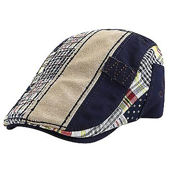 Men's British casual cap stitching beret