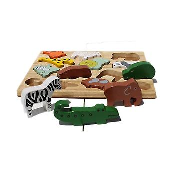 Qtoys Australie (etats-Unis) Animal Play Set & Puzzle