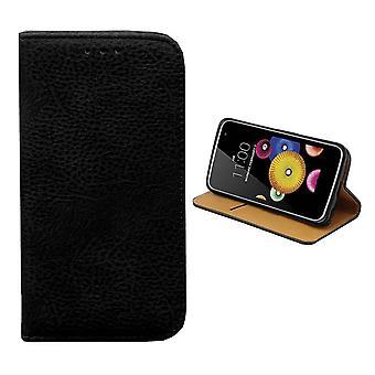 Custodia portafoglio Colorfone LG K7 (nero)
