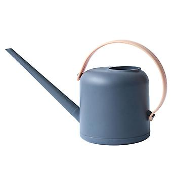 Long mouth watering can garden plastic watering can large capacity watering 1.7L gardening tools