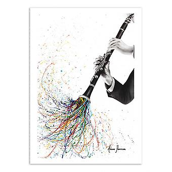 Art-Poster - A Clarinet tune - Ashvin Harrison