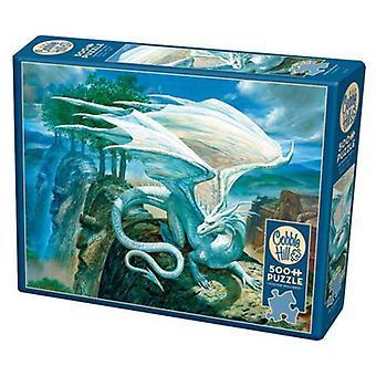 Cobble hill puzzle - white dragon  - 500 pc