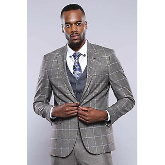 Grey vested suit | wessi