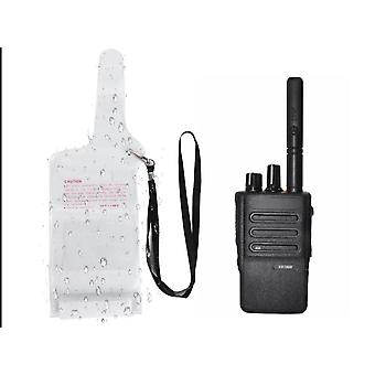 Case Pouch Cover With Lanyard For Two Way Radio Walkie Talkie