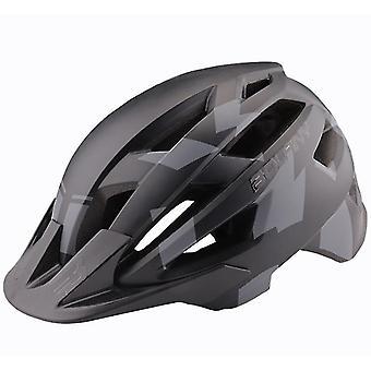 57-62Cm naamioida musta kevyt maantiepyörä pyöräilykypärä, ulkona ratsastus turvakypärä, naamiointi musta az9242