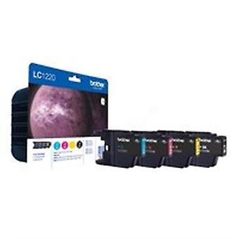Brother LC-1220VALBP Ink cartridge multi pack, 300 pages, Pack qty 4