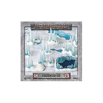 Battlefield In A Box - Icewind Dale: Caverns of Ice 3d Terrain Set (8 pieces)