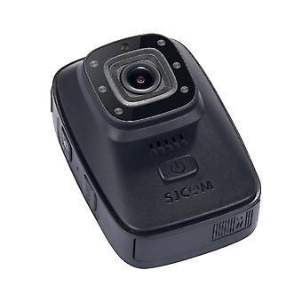 Sjcam a10 caméra corporelle portable caméra de sécurité infrarouge portable ir-cut b /w commutateur de vision nocturne lampe laser infrarouge action cam