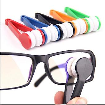Mini Glasses Cleaning Wipe Multifunctional Portable Super Soft Glasses Wipe Cleaner Double-sided