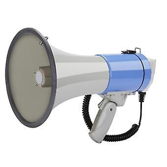 Ulkona käsikäyttöinen megafonikaiutin, suuritehoinen tallennettava, kaiutintwiittaaja