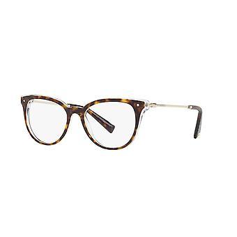 Valentino VA3005 5026 Top Havana på krystalbriller