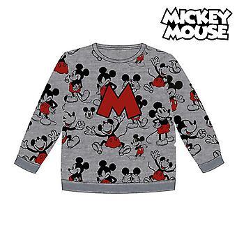Children's Sweatshirt Mickey Mouse 74249 Grey