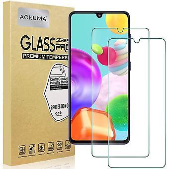 für Samsung Galaxy A41 Panzerglas, 【2 Stücke】Glas kompatibel mit Samsung Galaxy A41 Schutzfolie,