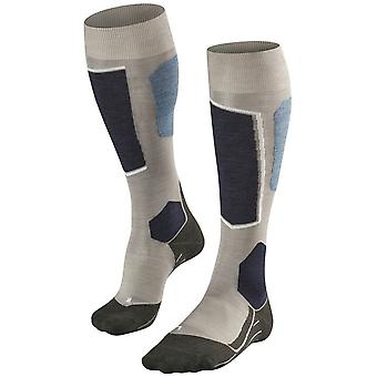 Falke Ski 6 Chaussettes Knee High - Grey Melange
