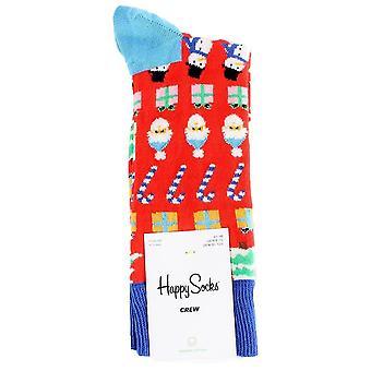 Happy Socks All I Want For Christmas Socks - Red