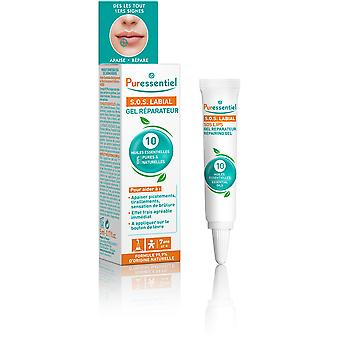 Puressentiel Gel de Reparación Labial Sos 5 ml