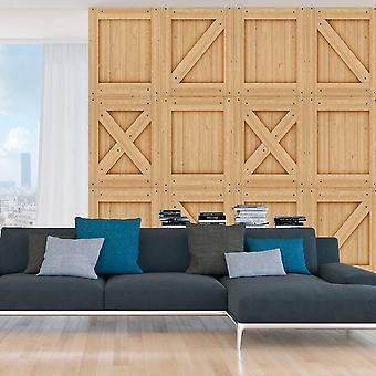 Papel de parede de efeito de madeira - Clássico Moderno