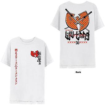 Wu-Tang Clan - Swords Unisex Large T-Shirt - White