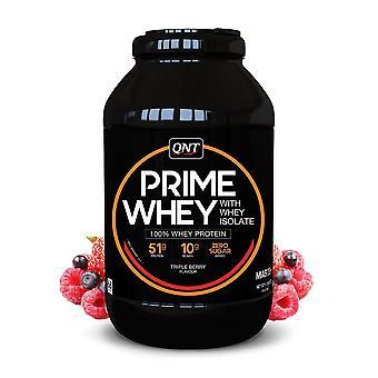QNT Prime Whey Protein Powder 100% Whey Isolate - 2kg - Triple Berry