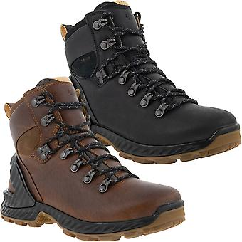 ECCO Womens Exohike Water Repellent Yak Leather Outdoor Walking Boots