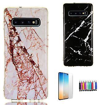 Samsung Galaxy S10 Plus - Shell / Protezione / Marmo