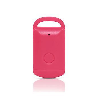 Valise en forme de Bluetooth Key Finder GPS Locator Anti-lost Alarm/Tracker, Rose