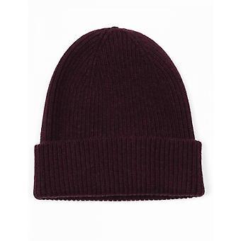 Colorful Standard Merino Wool Beanie Hat - Oxblood Red