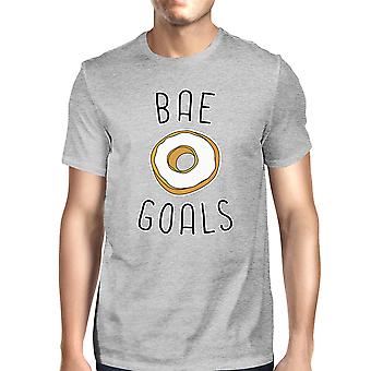 BAE goli mężczyźni szary T-shirt prostym typografii śmieszne prezenty dla niego
