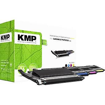 El paquete combinado de cartucho de tóner KMP reemplazó a Samsung CLT-P4072C, CLT-K4072S, CLT-C4072S, CLT-M4072S, CLT-Y4072S Compatible Black, Cyan, Magenta, Yellow 1500 Sides