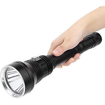 Belita Amy Torche imperméable à l'eau-xhp70 6800lm Super Bright Led Lampe de poche Ipx8 Sous l'eau 80m Imperméable à l'eau Plongée Fill Light Torche, noir