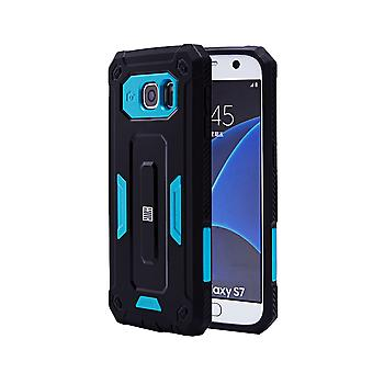 32nd hårt Defender case för Samsung Galaxy S7 (SM-G930) - Deep Blue