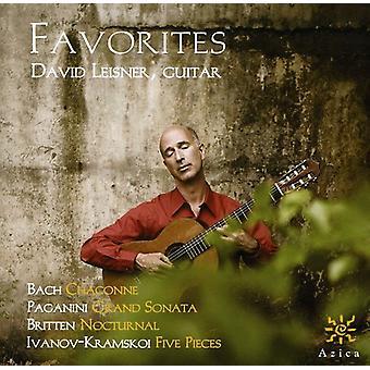 Bach/Paganini/Britten/Ivanov-Kramskoi - Favorites [CD] USA import