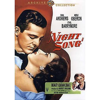 Night Song (1947) [DVD] USA import
